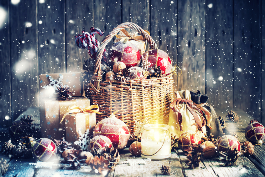 Christmas Hamper Baskets